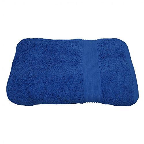 Julie Julsen Serviette d'invité sans produits chimiques - 600 g/m² - Bleu roi - 30 x 50 cm - 100 % coton - Certifié Öko-Tex Std 100 - Douce et absorbante - Lavable en machine