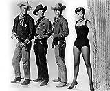 Posterazzi EVCMBDRIBREC003LARGE Rio Bravo, John Wayne, Dean Martin, Ricky Nelson, Angie Dickinson, 1959 Photo Print, 16 x 20, Multi