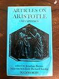 Articles on Aristotle. 3: Metaphysics