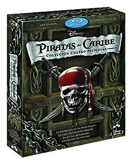 Duopack: Piratas Del Caribe 1-4 + Bonus Disc [Blu-ray] (B005MH6SG6)   Amazon price tracker / tracking, Amazon price history charts, Amazon price watches, Amazon price drop alerts