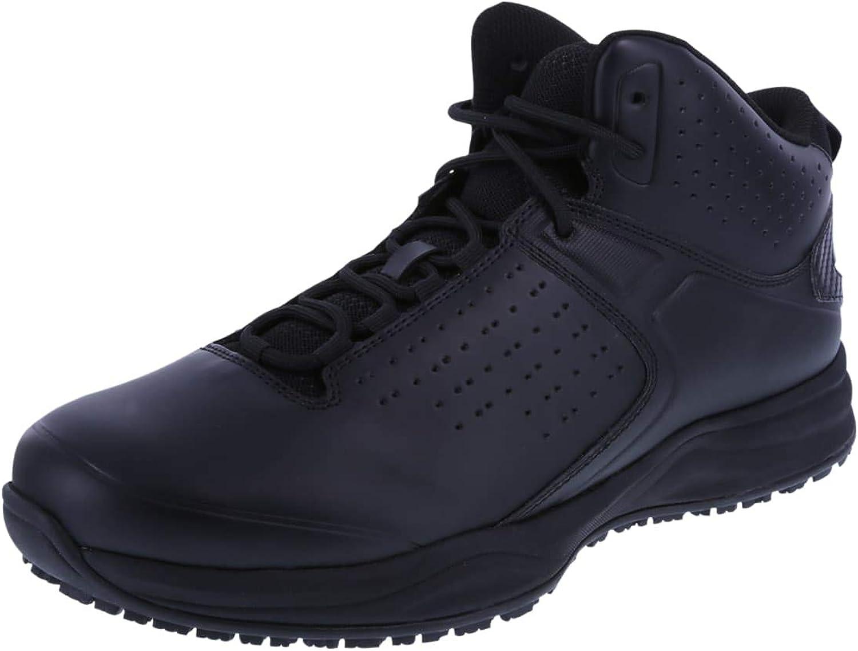 SafeTstep Men's Slip Resistant Trifecta Mid-Top Sneaker