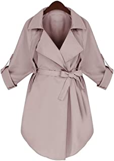 Autumn Winter Women Long Trench Coat Woman Long Sleeve Jacket Outerwear