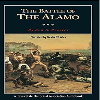 The Battle of the Alamo audiobook cover art