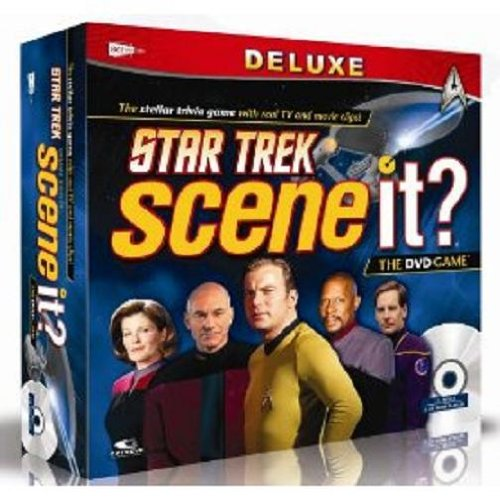 Screenlife Games Scene It? Deluxe Star Trek Edition by