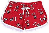 Pantalones Cortos Mickey Mouse Disney, Color Rojo S