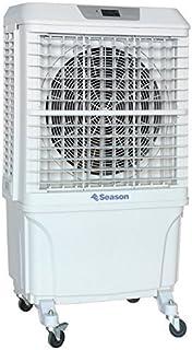 SEASON Climatizador nebulizador Ventilador SVE-8P evaporativo Gran caudal 8.000 m3/h 60 litros 3 velocidades terraza Bar jardín