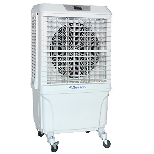 SEASON Climatizador nebulizador Ventilador SVE-8P evaporativo Gran caudal 8.000 m3/h 60 litros 3...