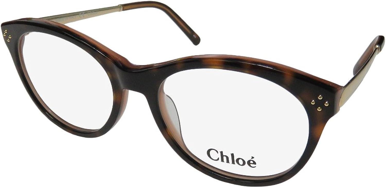 Chloé  CE2638, Cat Eye, acetate metal, women, HAVANA(211), 50 17 135