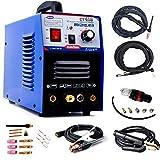 3 In 1 Combo TIG STICK/MMA Plasma Cutter-Tosense Cutting Machine 30A Air Plasma Cutter 120A TIG/MMA Welder Dual Voltage 110/220V Welding Machine