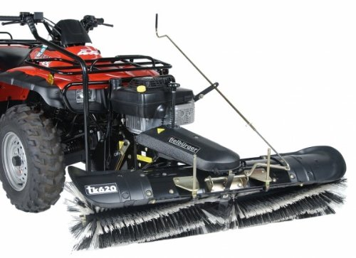 Tielbürger tk620 Universal Anbau-Kehrmaschine für Quad ATV