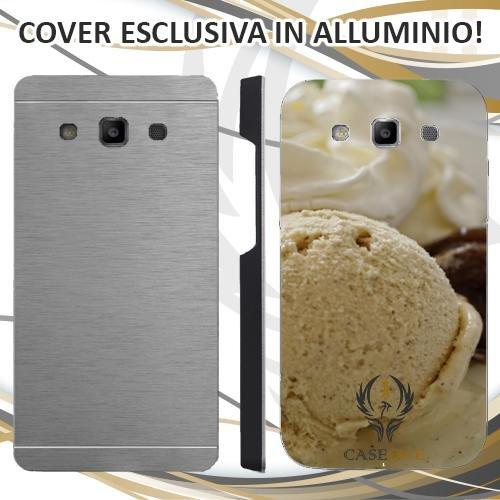 Custodia Cover Case Gelato Ice Cioccolato per Samsung Galaxy S3 Neo in Alluminio