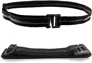JHuuu Adjustable Shirt Stay Belt, Nylon Elastic Shirt Holder for Formal and Professional Attire, Non-slip and Anti-Wrinkl...