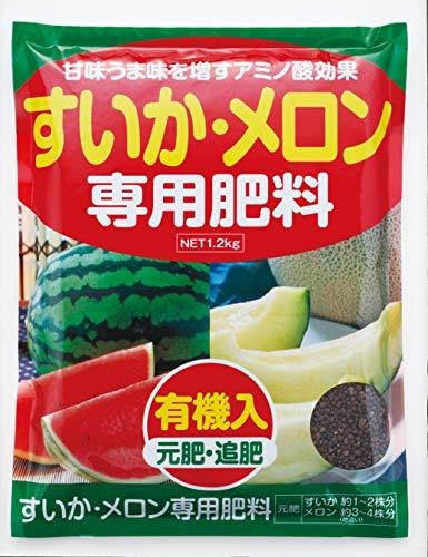 アミノール化学研究所 すいか・メロン専用肥料 1.2kg