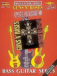 Guns n\' roses: appetite for destruction (for bass guitar) guitare