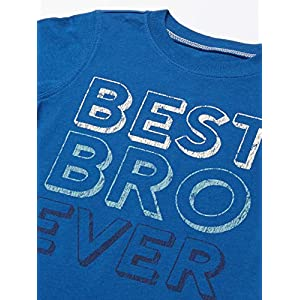 Carter's Boys' Toddler 3-Pack Short-Sleeve Graphic Tee, Dino/Construction/Rescue, 5T