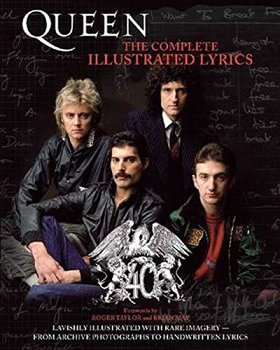 Compare Textbook Prices for Queen: The Complete Illustrated Lyrics Illustrated Edition ISBN 9781617130137 by Queen
