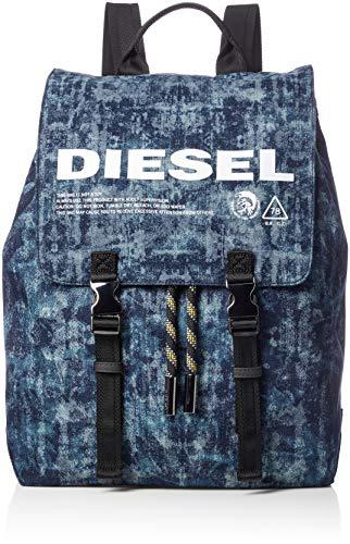 Diesel Herren VOLPAGO Backpack Rucksäcke, Poseidon, Einheitsgröße