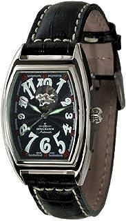 Zeno - Watch Reloj Mujer - Tonneau Retro Open Heart - 8085U-h1
