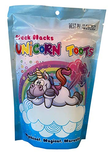 Unicorn Toots Cotton Candy Neek Nacks Gag Gift Fun Bag and...