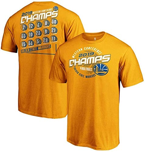 ZSPSHOP NBA Warriors Curry Durant Thompson - Camiseta digital de manga corta para deportes de baloncesto (color: K, tamaño: XL)