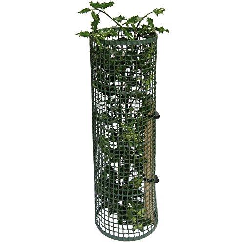 Tubex Treeguard Strauch-/Baumschutz-Gitter-Röhre 60cm Ø 170-200mm, grün, Stammschutz, Fege- und Verbissschutz (4)