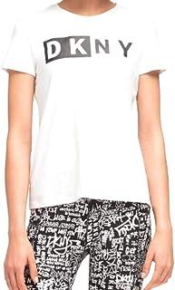 DKNY Women's Summer Tops Short Sleeve T-Shirt