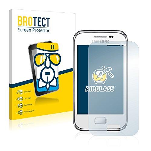 brotect Pellicola Protettiva Vetro Compatibile con Samsung Galaxy Ace Plus S7500 Schermo Protezione, Estrema Durezza 9H, Anti-Impronte, AirGlass