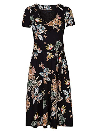 Vive Maria My Hawaii Dress Schwarz Allover, Größe:M
