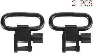 wipboten Sling Swivels Sling Attachment Mounts 1.25 inch Heavy Duty Push Button Swivels 2 Packs