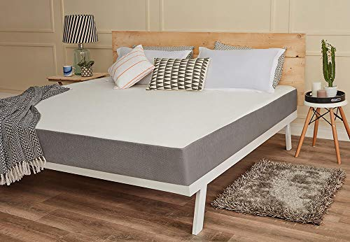 Wakefit Orthopaedic Memory Foam Mattress, Queen Bed Size (78x60x8)