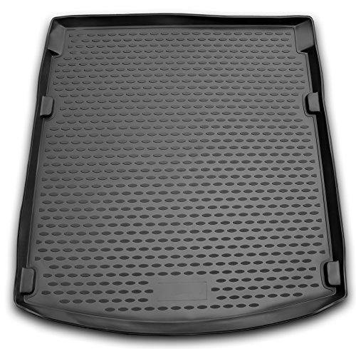 AD Tuning TMP11003 Passform Kofferraumwanne, Anti-Rutsch Oberfläche, schwarz