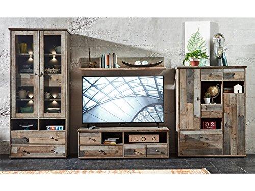 Wohnwand Schrankwand Mediawand Anbauwand TV-Wand Wohnzimmerschränke