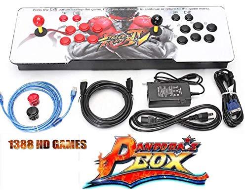 Theoutlettablet@ - Pandora Box 6s 1388 Juegos Retro Consola Maquina Arcade Video Gamepad VGA/HDMI/USB ENVIOS EN 24 Horas