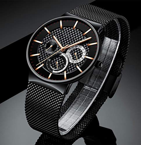 Voigoo Relogio Masculino Herrenuhren Top-Marke ultradünne Armbanduhr Chronograph-Sport-Uhr erkek saati reloj Hombre
