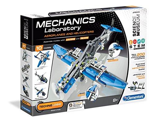 Clementoni - Laboratorio de Mecánica - Aeroplanos y helicópteros