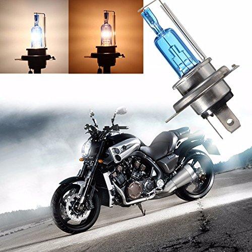 Sedeta H4 35W Halogène 6000K lumière Lampe Ampoule de phare Auto voiture 12V étanche Super White Light Lamp Acier inoxydable véhicule pour