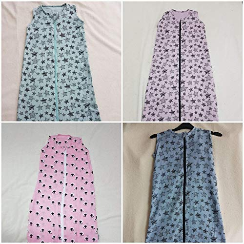 Handmade Schlafsack aus Musselin 70/90/110/130