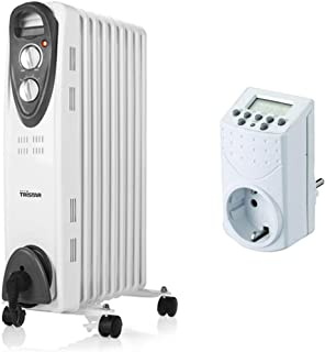 2000W Tristar eléctrico Calefacción Con Ruedas, regelbarem Termostato & temporizador, radiador