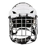 perfeclan Casco De Hockey sobre Hielo para Adultos con Protector Facial: Ajustable Y Transpirable - M