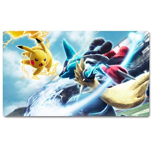716462 – Tapis de jeu pour jeu de table Pokémon Taille 60 x 35 cm Tapis de souris pour Yugioh Magic The Gathering