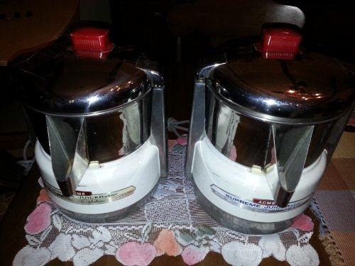 Acme 6001 Juicerator 550-Watt Juice Extractor, Quite White...