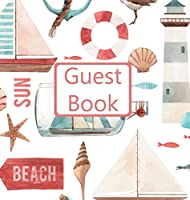 Guest Book, Guests Comments, Visitors Book, Vacation Home Guest Book, Beach House Guest Book, Comments Book, Visitor Book, Nautical Guest Book, Holiday Guest Book (Hardback)