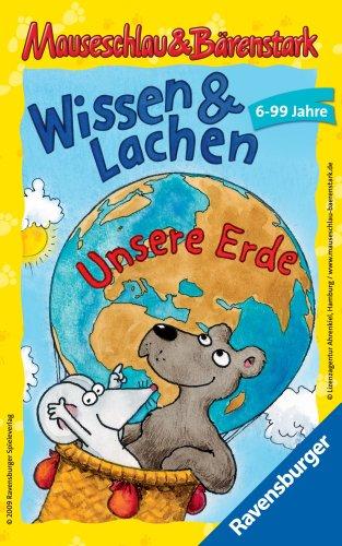 Ravensburger Mitbringspiele 23289 - Mauseschlau & Bärenstark Wissen und Lachen – Unsere Erde