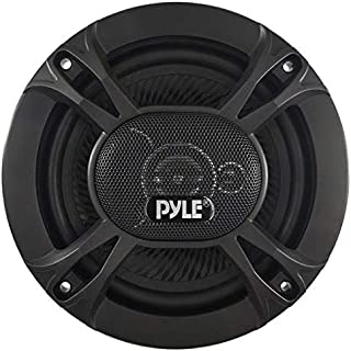 """3-Way Universal Car Stereo Speakers - 300W 6.5"""" Triaxial Loud Pro Audio Car Speaker Universal OEM Quick Replacement Component Speaker Vehicle Door/Side Panel Mount Compatible - Pyle PL613BK (Pair)"""
