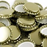 29mm Champagne and European Bottle Caps - 2 Bags of 100
