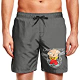 Men's Beach Shorts Animated Sitcom Family Guy Stewie Griffin Tropical Swim Trunks