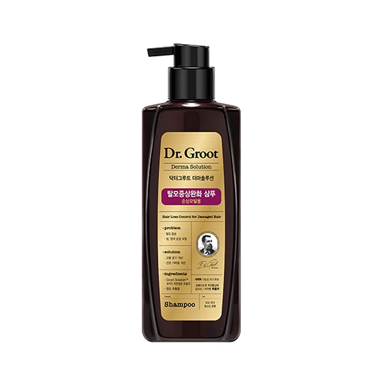 関与する無限大チャレンジ【Dr.Groot】ドクターグルート Dr.グルート 脱毛防止シャンプー ダメージヘア用 (Anti Hair Loss Shampoo -For damaged hair-)