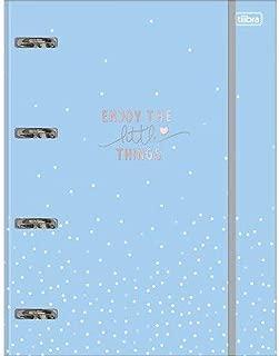 Caderno Argolado Cartonado Universitário com Elástico Soho 80 Folhas Soho, Multicolorido