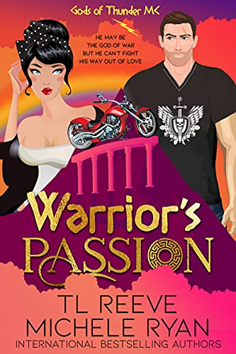 Warrior's Passion: A Paranormal Chick Lit Novel (Gods of Thunder) (English Edition)