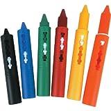 Tobar 05177 Waschbar Bath Crayons Kreative Bad-Zeit-Kunst-Spielzeug mit 6 Farben
